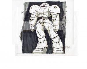 Sumo Front©️Syd Mead, Inc. 『∀ガンダム』© 創通・サンライズ